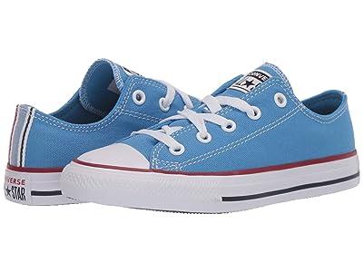 Converse Kids Chuck Taylor(r) All Star(r) Twisted Varsity (Little Kid/Big Kid) (Coast/Garnet/White) Kid