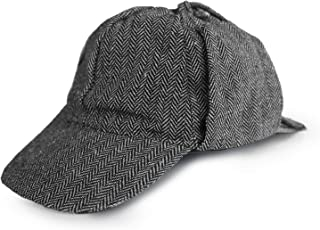 Detective Hat - One Size - Costume Accessory Gray