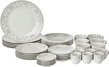 Aparelho de Jantar 42 Pecas de Porcelana Super White, Wolff