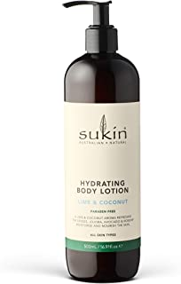 Sukin Lime and Coconut Body Lotion, 500ml