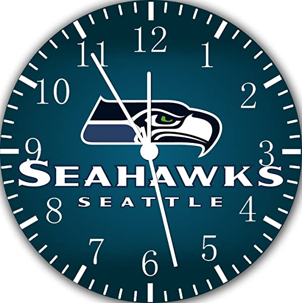 Borderless Seahawks Frameless Wall Clock E406 Nice For Decor Or Gifts