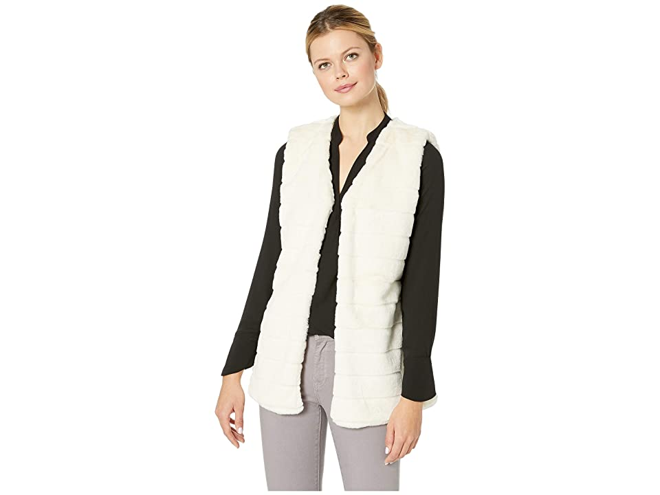 Echo Design Faux Fur Vest (Echo Ivory) Women