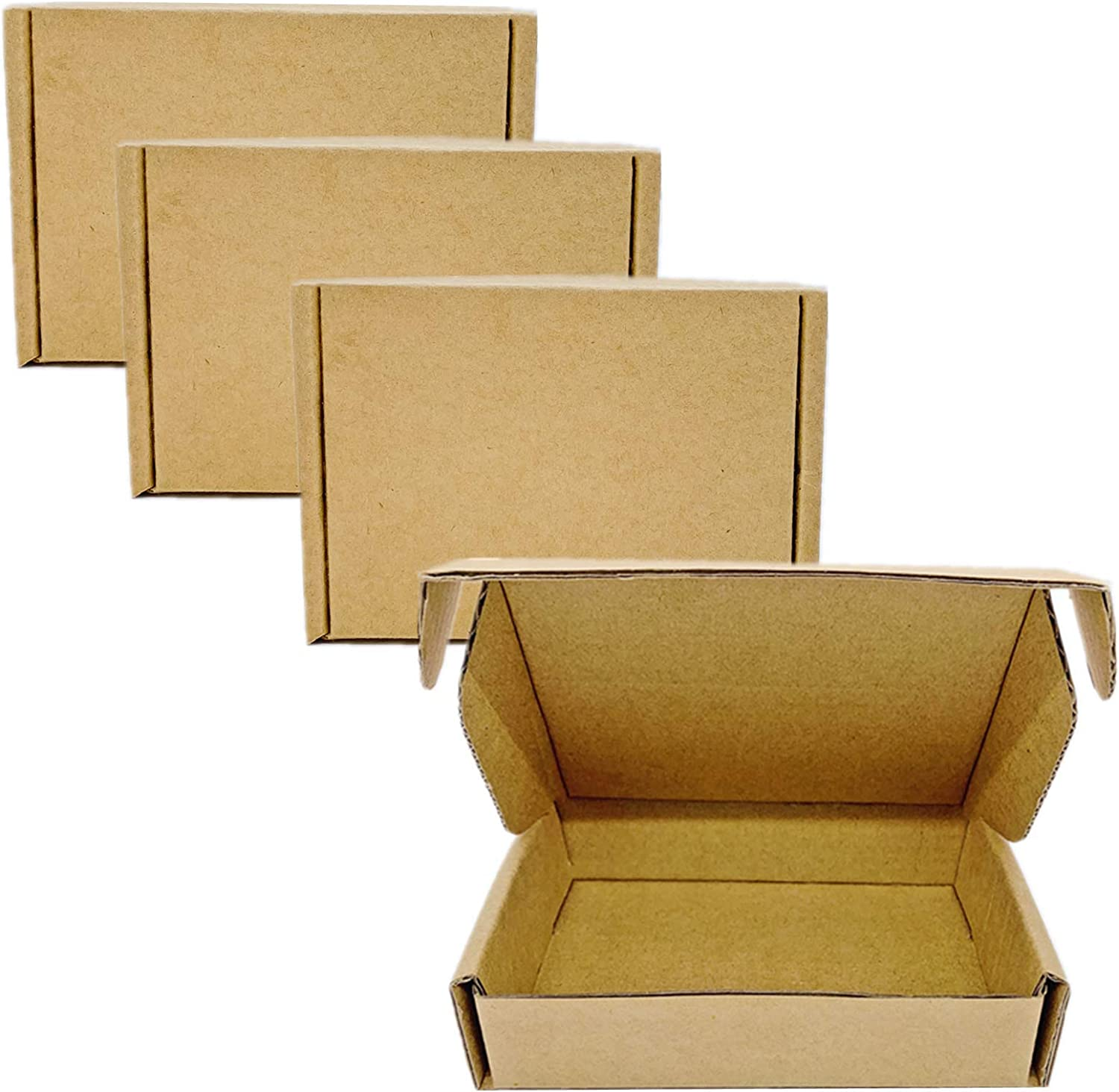 Small Max 82% 5% OFF OFF Corrugated Boxes Mailers inch 9x6.29x2 Ma Kraft