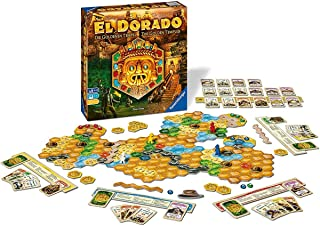Ravensburger The Quest for El Dorado: Golden Temples Adventure Family Game For Ages 10 & Up