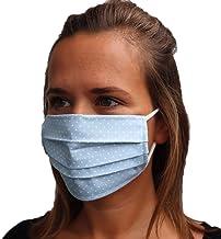 LIEVD mondneusmasker verschillende kleuren en maten I 100% OEKE-TEX katoenen mondkapjes I masker stof gezicht wasbar I 2-l...