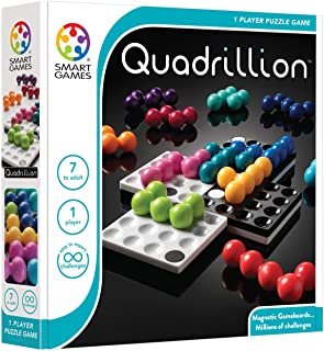 SmartGames SG540 Quadrillion Magnetic Puzzle Game