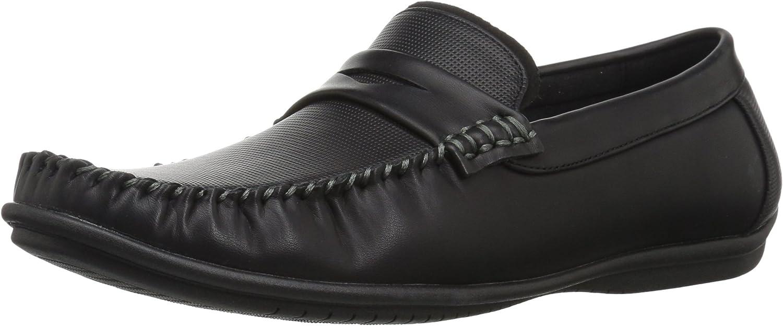 Nunn Bush Men's 84754-001 Driving Style Loafer, Black, Medium
