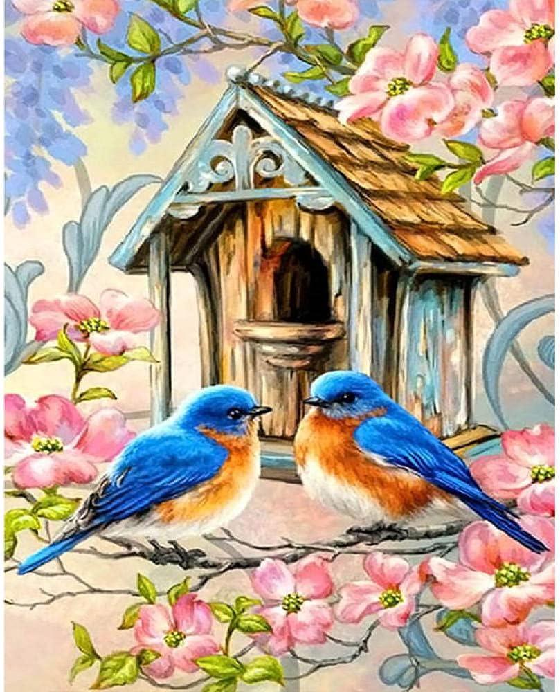 Diamond Ultra-Cheap Deals Painting DIY Cross Stitch 5 Bird Kit wholesale Decoration
