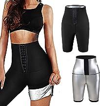 langjiao Yogabroek, anti-cellulitis-legging, sterke compressie, verstelbare taille, slankheidsleggings, versnelt de zweeto...