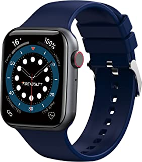 """Fire-Boltt Ring Bluetooth Calling Smartwatch with SpO2 & 1.7"""" Metal Body with Blood Oxygen Monitoring, Continuous Heart Ra..."""