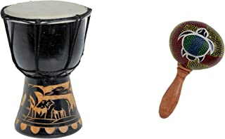 20cm Djembe Bambini Drum Bongo Bonghetto Bongi Elefante A1