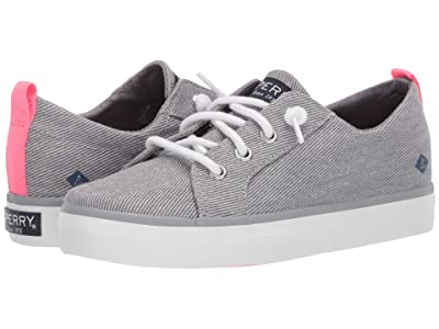 Sperry Kids Crest Vibe (Little Kid/Big Kid) (Grey 1) Girls Shoes