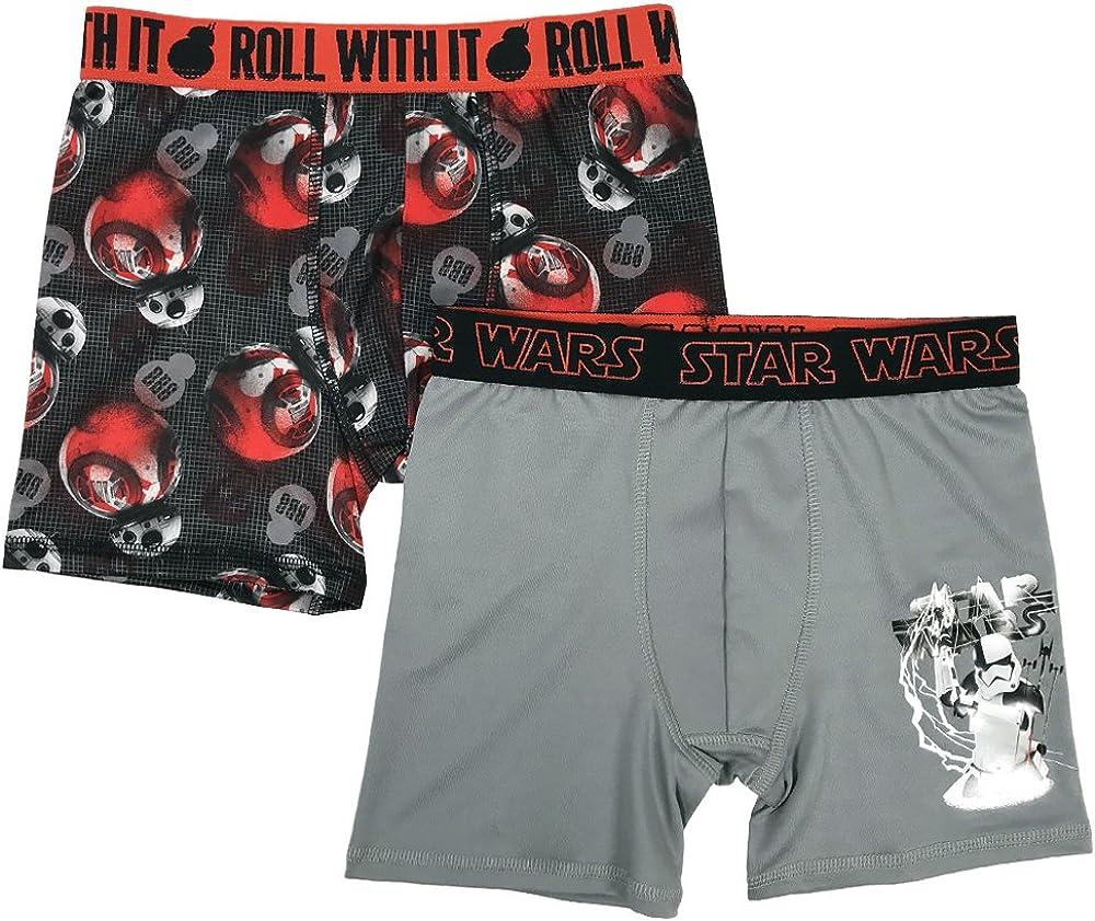 Star Wars Boys' Episode 8 2pk Athletic Boxer Briefs
