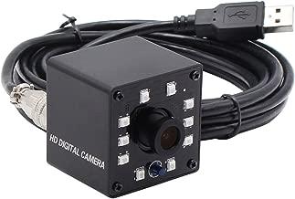 SVPRO 1080P OV2710 Web Cam HD CCTV Surveillance Camera Mini Infrared Night Vision USB Webcam HD 1080P with IR Cut and 10pcs Led Board