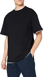 Urban Classics Mens Clothing Contrast Tall Tee