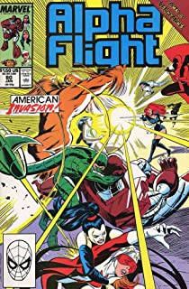 Alpha Flight (1st Series) #80 VF ; Marvel comic book