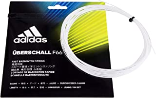 Adidas Uberschall F66 Badminton Strings- White