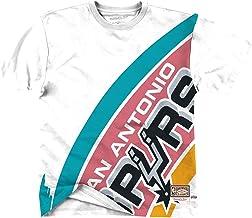 Mitchell & Ness NBA Big Face Tee San Antonio Spurs White - Camiseta de manga larga