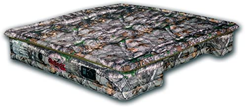 AirBedz PPI 404 Camo 404-Full Full Size 5.5'-5.8' Short Bed with Built-in Rechargeable Battery Air Pump and Tailgate Mattress