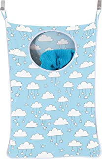 Urban Mom Hanging Laundry Hamper Baby Boy - Blue Clouds