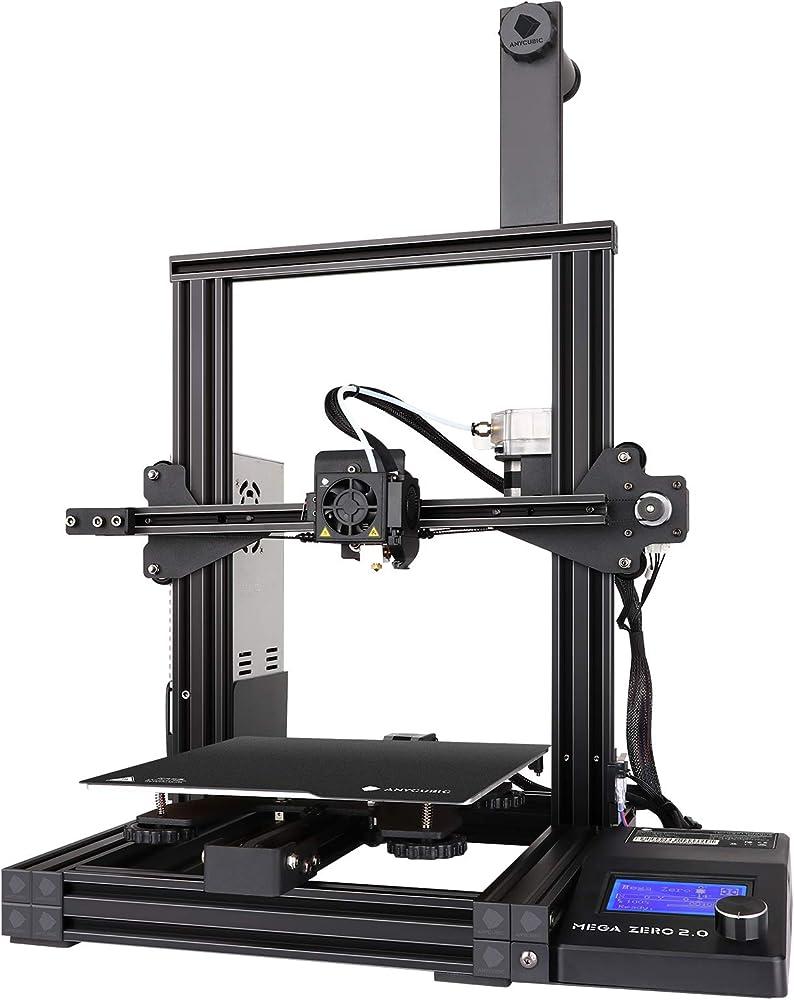 Anycubic stampante 3d mega zero 2.0,dimensioni di stampa 220 x 220 x 250 mm BKMZA0