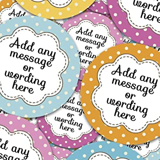 Sweet Cones Jars Crafts Easter Bunny Rabbit Red Sticker Labels Personalised Seals Ideal for Party Bags Presentations Gift Boxes Favours Bottles
