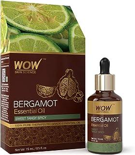 WOW Skin Science Bergamot Essential Oil, 15 ml