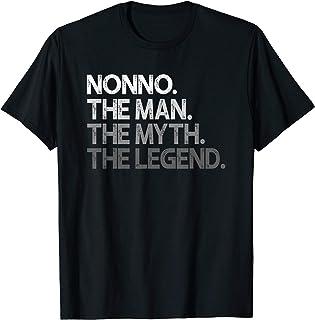 Mens Nonno Shirt Gift: The Man The Myth The Legend T-Shirt