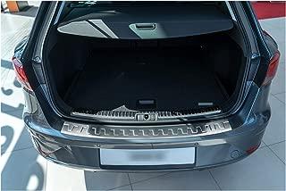 tuning-art BL936 Protección para Parachoques de Acero Inoxidable, Color:Plata
