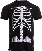 Skeleton Rib Cage | Jumbo Print Novelty Halloween Costume Unisex T-Shirt