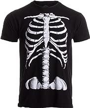Skeleton Rib Cage   Jumbo Print Novelty Halloween Costume Unisex T-Shirt