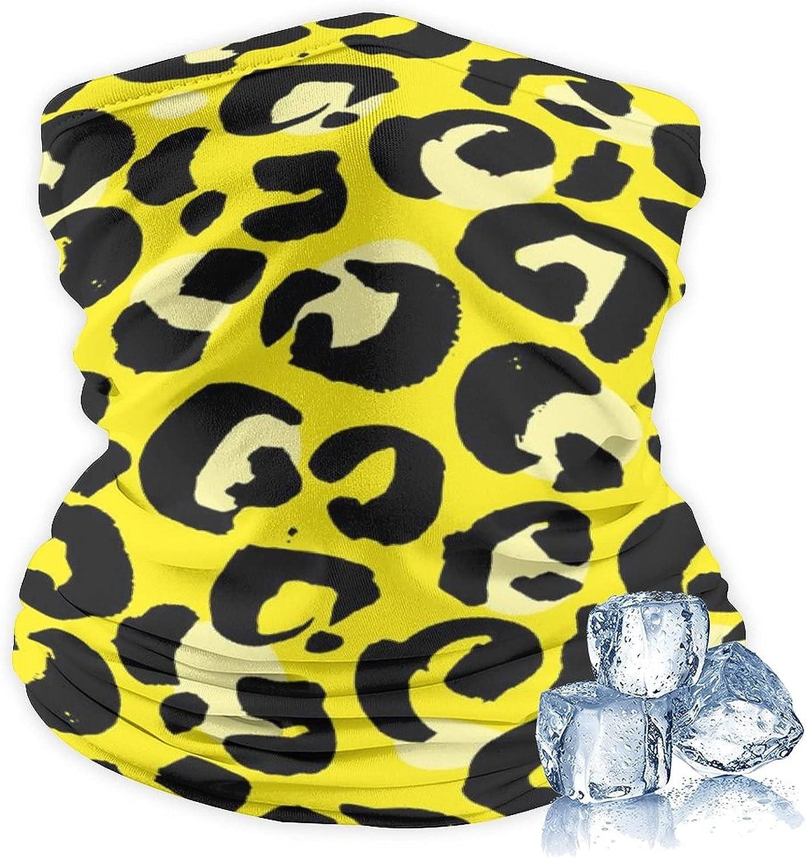 Neck Gaiter Balaclava Bandana Headwear Ice Silk Cooling Sports Face Scarf