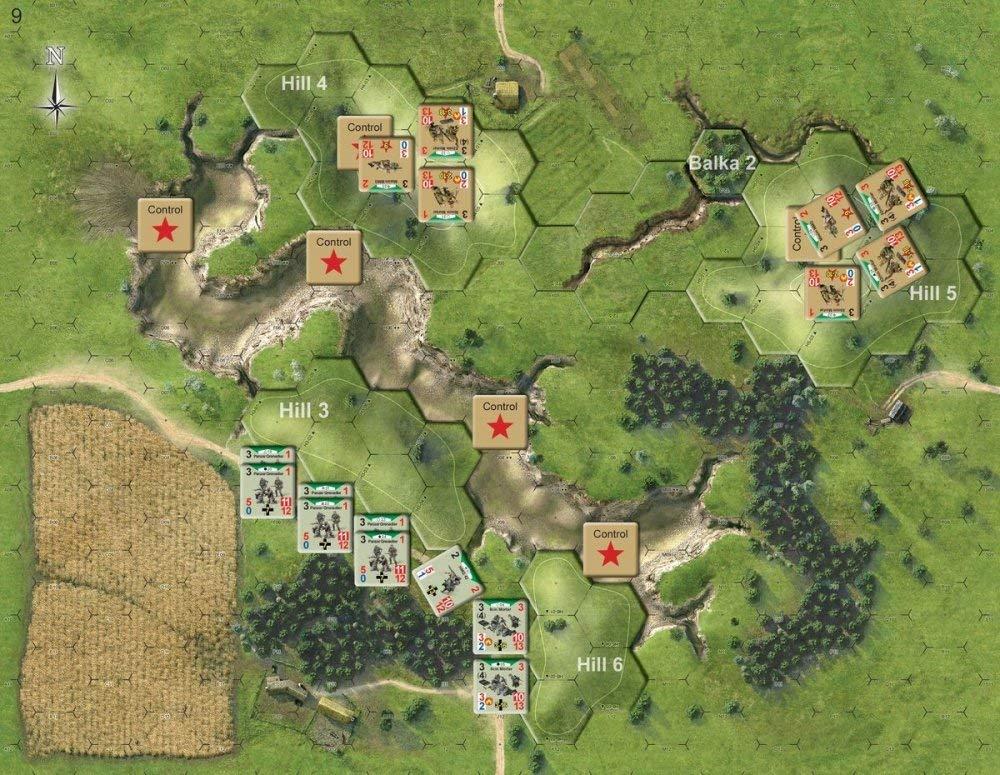 Tactical Wargame Kursk 1943 - Storms of Steel, 3rd Edition: Amazon.es: Juguetes y juegos