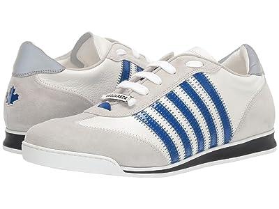 DSQUARED2 New Runner Sneaker (White/Blue 1) Men