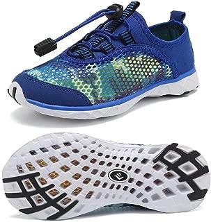 CIOR Kid Boys Water Shoes Lightweight Quick Dry Girl Sport Aqua Shoe Outdoor Athletic Sneakers(Toddler/Little Kid/Big Kid)