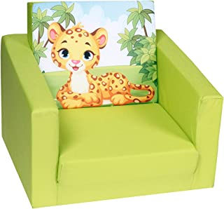 DELSIT Rozkładany fotel dziecięcy dla chłopców i dziewcz