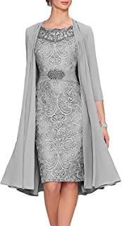 Best mother of the bride dresses tea length champagne Reviews