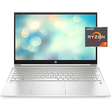 "HP 2021 Pavilion Laptop, 15.6"" FHD IPS Display, AMD Ryzen 7 5700U (>i7-10710U), 32GB RAM, 1TB SSD, Webcam, B&O Audio, WiFi 6, Bluetooth, Backlit Keyboard, Fingerprint, Numeric Keypad, Win 10 Home"