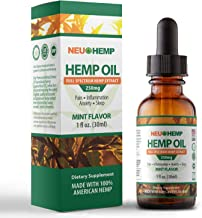 Organic Full Spectrum Hemp Extract - 250mg Therapeutic Grade Ultra Pure Oil Premium Tincture for Chronic Pain Arthritis Tendonitis Lower Back Sciatica Nerve Carpal Tunnel Relief Anxiety Stress Support