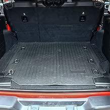 JoyTutus Fits 2018 2019 Jeep JL Cargo Liner Trunk Mat