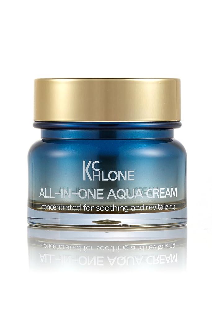 肌寒い余韻子[クロネ] KCHLONE オールインワンアクアクリーム50ml (All-in-One Aqua Cream 50ml)