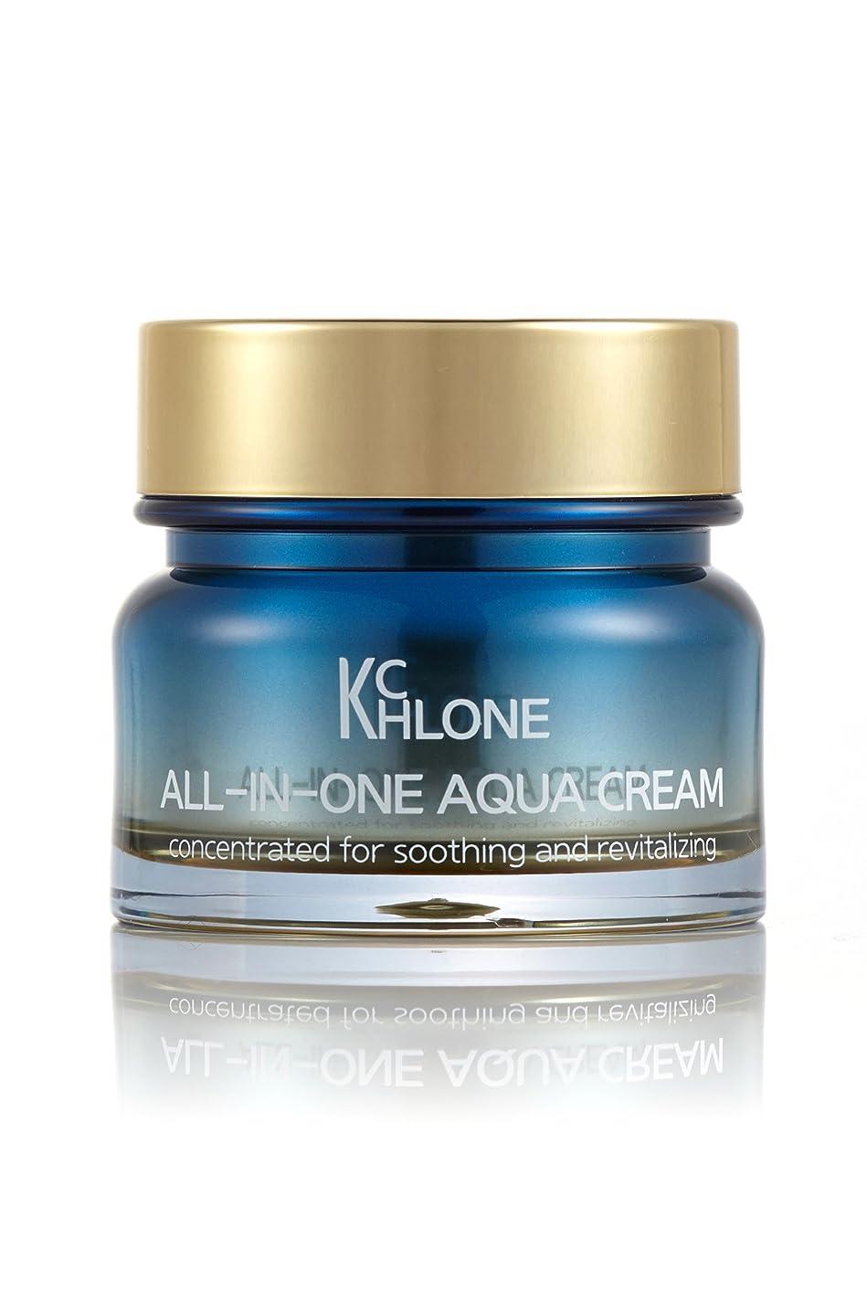 不透明なゼロ渇き[クロネ] KCHLONE オールインワンアクアクリーム50ml (All-in-One Aqua Cream 50ml)