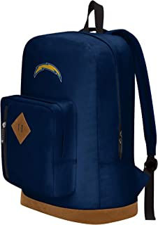 """Officially Licensed NFL Los Angeles Chargers """"Playbook"""" Backpack, Blue, 18"""" x 5"""" x 13"""""""