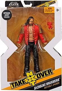 WWE NXT Takeover Elite Action Figure Shinsuke Nakamura with Entrance Jacket