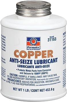 Permatex 31163 Copper Anti-Seize Lubricant, 1 lb: image