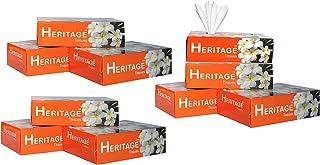 2 Ply Ultra Soft Tissue, Facial Tissue - 100 Pulls Par Box 200 Sheet (Pack of 10, Orange)