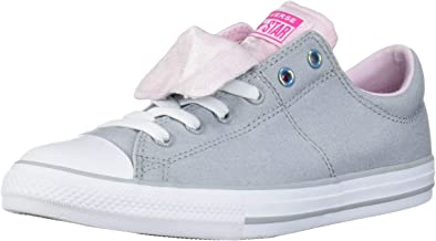 Converse Kids' Chuck Taylor All Star Maddie Double Tongue Slip-on Low Top Sneaker