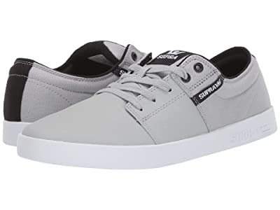 Supra Stacks II (Light Grey Tuf/White) Men