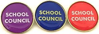 10x l'école Conseil broches badges avec Livraison gratuite