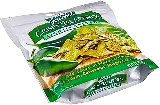 Fresh Gourmet Crispy Jalapenos, Lightly Salted, 3.5-Ounce (Pack of 3) by Fresh Gourmet